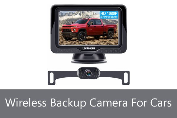 Best Wireless rear view Mirror Backup Camera For Car