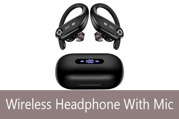 best wireless headphone with microphone under